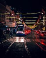 amsterdam, holanda 2018- transporte público em amsterdã foto
