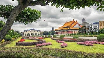 Praça da Liberdade em Taipei, Taiwan foto
