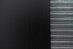 fundo de textura de metal riscado foto