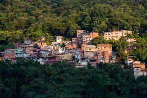 favela da tabajara no rio de janeiro brasil foto
