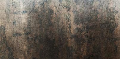 textura de metal enferrujada de grunge de cobre, ferrugem e fundo de metal oxidado. foto