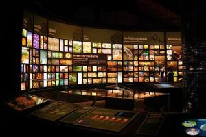 pathum thani tailândia 27 de agosto de 2020 rama9 museu a diversidade da vida exposições foto