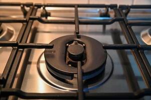 fogão de cozinha central o maior foto