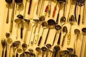 ferramentas de cozinha ert exposição foto