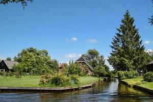 o giethorrn celestial na Holanda foto