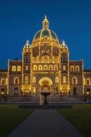 casa do governo em victoria bc no canadá foto