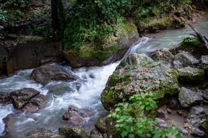 ponte da cachoeira touro marmore foto