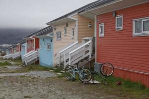 casas de Nanortalik, Groenlândia foto