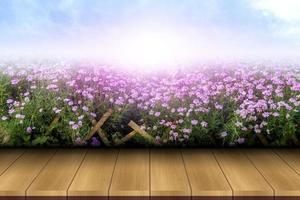 fundo de belas flores nebulosas em belos padrões abstratos foto