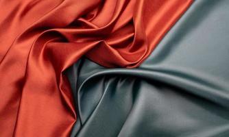 fundo de textura de tecido verde e marrom foto