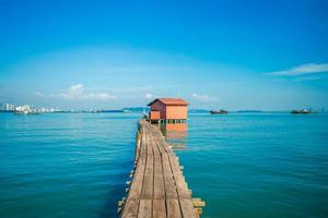 tan jetty em george city em penang malásia foto