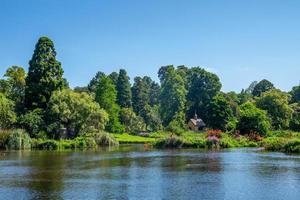jardins botânicos reais em melbourne, austrália foto