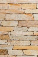 parede de tijolos, usada para decoração de casa no rio de janeiro foto