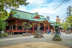 Santuário de Nezu em Tóquio no Japão foto