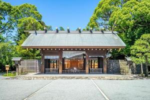 santuário iseyama kotai jingu em yokohama, japão foto