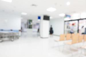 desfocar o fundo do hospital foto