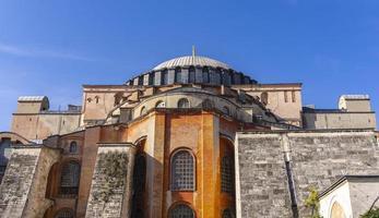 istambul, turquia, 2019 - basílica patriarcal cristã de hagia sophia, mesquita imperial e museu foto
