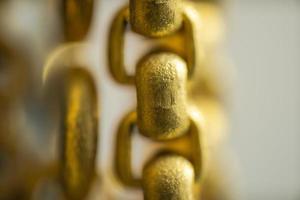 super macro de fundo de joias de ouro foto