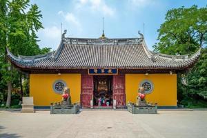 Templo Longhua em Xangai, China foto