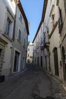 ruas da republica de no centro de amelia foto