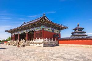 templo do céu, o marco de pequim, china foto