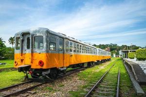 vila de arte ferroviária de taitung na cidade de taitung, taiwan foto
