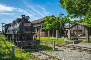 parque cultural ferroviário de hualien na cidade de hualien, taiwan foto