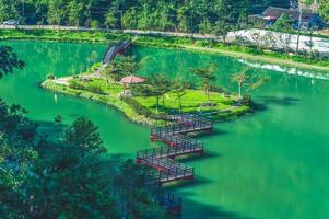 vista aérea de wanglongbi em yilan, taiwan foto