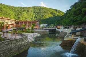 parque da primavera fria de suao em yilan, taiwan foto