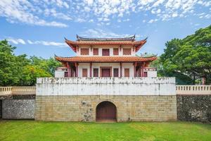 o grande portão sul em tainan, taiwan foto