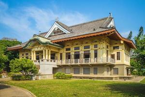wude hall, também conhecido como bushido hall, em tainan, taiwan foto