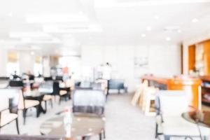 restaurante borrão abstrato foto