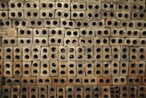 fundo de parede com tijolos foto