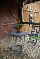 velhas casas de madeira foto