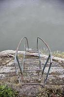 escada para o mar foto