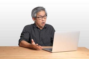 trabalhador asiático foto