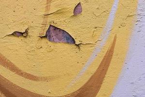 textura de muro de concreto velho e sujo foto