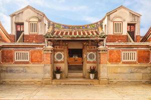 salão de haizhu da vila de cultura popular de Shanhou em kinmen, taiwan foto