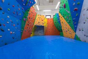 treinamento de escalada indoor foto