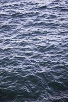 textura da água do mar foto