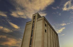 fabricantes de silos abandonados foto