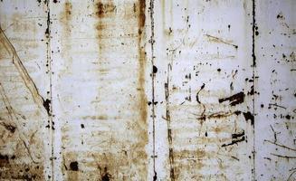 textura de ferrugem na parede de metal foto