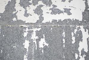 parede de metal quebrada foto