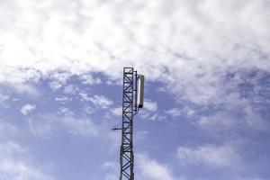 paisagem de torre elétrica foto