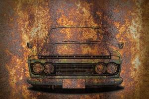 papel de parede de carro antigo foto