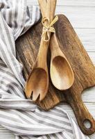 utensílios de cozinha vintage antigos foto