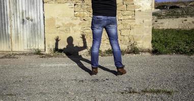 detenção de jovem gangue de rua foto