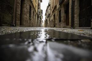 rua da cidade velha foto