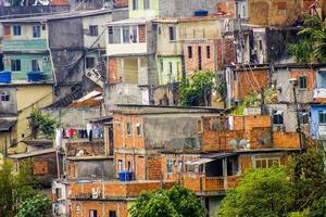 detalhes do morro dos prazeres do rio de janeiro - brasil foto