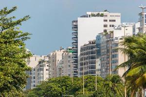 prédios do bairro de copacabana no rio de janeiro. foto